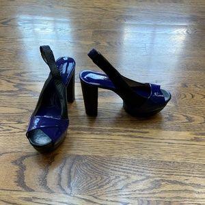 """Michael Kors, platform sandals 4"""" heel"""